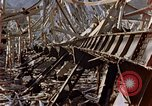 Image of fire truck trapped Nagasaki Japan, 1946, second 17 stock footage video 65675042182