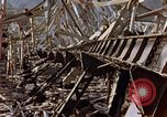 Image of fire truck trapped Nagasaki Japan, 1946, second 18 stock footage video 65675042182
