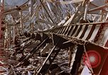 Image of fire truck trapped Nagasaki Japan, 1946, second 19 stock footage video 65675042182