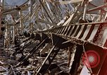 Image of fire truck trapped Nagasaki Japan, 1946, second 20 stock footage video 65675042182