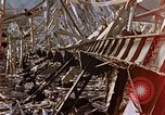 Image of fire truck trapped Nagasaki Japan, 1946, second 21 stock footage video 65675042182
