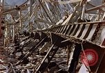 Image of fire truck trapped Nagasaki Japan, 1946, second 22 stock footage video 65675042182
