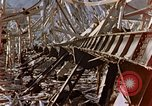 Image of fire truck trapped Nagasaki Japan, 1946, second 23 stock footage video 65675042182