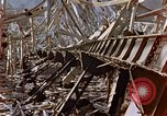 Image of fire truck trapped Nagasaki Japan, 1946, second 25 stock footage video 65675042182