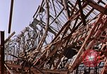 Image of steel beam structure Nagasaki Japan, 1946, second 3 stock footage video 65675042183