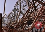 Image of steel beam structure Nagasaki Japan, 1946, second 4 stock footage video 65675042183