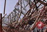 Image of steel beam structure Nagasaki Japan, 1946, second 8 stock footage video 65675042183