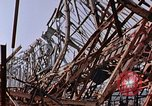 Image of steel beam structure Nagasaki Japan, 1946, second 10 stock footage video 65675042183