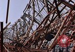 Image of steel beam structure Nagasaki Japan, 1946, second 11 stock footage video 65675042183