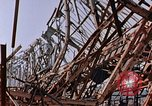 Image of steel beam structure Nagasaki Japan, 1946, second 14 stock footage video 65675042183