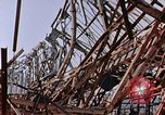 Image of steel beam structure Nagasaki Japan, 1946, second 15 stock footage video 65675042183