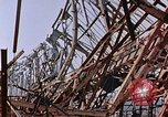 Image of steel beam structure Nagasaki Japan, 1946, second 18 stock footage video 65675042183