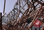 Image of steel beam structure Nagasaki Japan, 1946, second 19 stock footage video 65675042183
