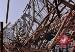 Image of steel beam structure Nagasaki Japan, 1946, second 20 stock footage video 65675042183
