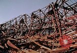 Image of steel beam structure Nagasaki Japan, 1946, second 27 stock footage video 65675042183