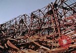 Image of steel beam structure Nagasaki Japan, 1946, second 31 stock footage video 65675042183