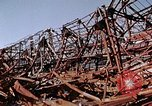 Image of steel beam structure Nagasaki Japan, 1946, second 33 stock footage video 65675042183