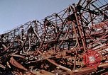 Image of steel beam structure Nagasaki Japan, 1946, second 34 stock footage video 65675042183