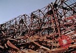Image of steel beam structure Nagasaki Japan, 1946, second 36 stock footage video 65675042183