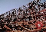 Image of steel beam structure Nagasaki Japan, 1946, second 37 stock footage video 65675042183