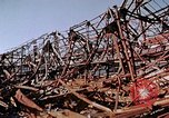 Image of steel beam structure Nagasaki Japan, 1946, second 40 stock footage video 65675042183