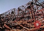Image of steel beam structure Nagasaki Japan, 1946, second 43 stock footage video 65675042183