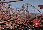 Image of steel beam structure Nagasaki Japan, 1946, second 48 stock footage video 65675042183