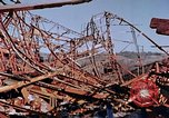 Image of steel beam structure Nagasaki Japan, 1946, second 51 stock footage video 65675042183