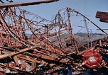 Image of steel beam structure Nagasaki Japan, 1946, second 52 stock footage video 65675042183