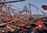 Image of steel beam structure Nagasaki Japan, 1946, second 54 stock footage video 65675042183