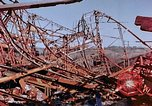 Image of steel beam structure Nagasaki Japan, 1946, second 58 stock footage video 65675042183