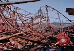 Image of steel beam structure Nagasaki Japan, 1946, second 59 stock footage video 65675042183