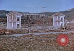 Image of rubble cleared after atomic bomb explosion Nagasaki Japan, 1946, second 15 stock footage video 65675042193