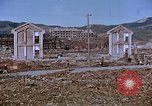 Image of rubble cleared after atomic bomb explosion Nagasaki Japan, 1946, second 25 stock footage video 65675042193