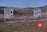 Image of rubble cleared after atomic bomb explosion Nagasaki Japan, 1946, second 27 stock footage video 65675042193
