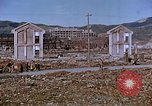 Image of rubble cleared after atomic bomb explosion Nagasaki Japan, 1946, second 29 stock footage video 65675042193