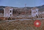 Image of rubble cleared after atomic bomb explosion Nagasaki Japan, 1946, second 30 stock footage video 65675042193