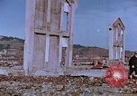 Image of rubble cleared after atomic bomb explosion Nagasaki Japan, 1946, second 40 stock footage video 65675042193