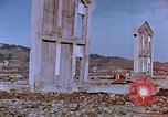 Image of rubble cleared after atomic bomb explosion Nagasaki Japan, 1946, second 41 stock footage video 65675042193