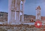 Image of rubble cleared after atomic bomb explosion Nagasaki Japan, 1946, second 42 stock footage video 65675042193