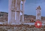 Image of rubble cleared after atomic bomb explosion Nagasaki Japan, 1946, second 43 stock footage video 65675042193