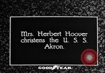 Image of First Lady Louise Henry Hoover Akron Ohio USA, 1931, second 1 stock footage video 65675042201