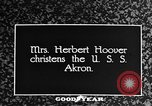 Image of First Lady Louise Henry Hoover Akron Ohio USA, 1931, second 2 stock footage video 65675042201