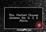 Image of First Lady Louise Henry Hoover Akron Ohio USA, 1931, second 4 stock footage video 65675042201