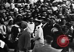 Image of First Lady Louise Henry Hoover Akron Ohio USA, 1931, second 30 stock footage video 65675042201