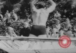 Image of diving competition Germany, 1962, second 17 stock footage video 65675042230