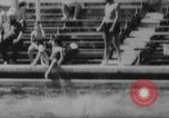 Image of diving competition Germany, 1962, second 38 stock footage video 65675042230