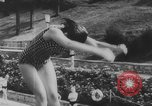 Image of diving competition Germany, 1962, second 61 stock footage video 65675042230