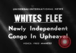 Image of European refugees Congo, 1960, second 1 stock footage video 65675042239