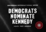 Image of John F Kennedy nominated for President Los Angeles California USA, 1960, second 1 stock footage video 65675042244